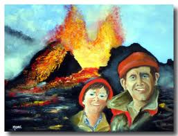 Volcanologues - dans Sciences