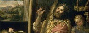aaaadominiquindavid-300x113 Peintre de la Renaissance - Artiste du Pape - Le Dominiquin dans Europe